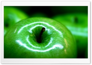 Green Apples HD Wide Wallpaper for Widescreen