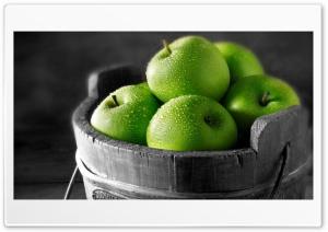 Green apples Ultra HD Wallpaper for 4K UHD Widescreen desktop, tablet & smartphone