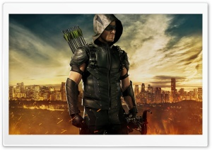 Green Arrow Season 4 HD Wide Wallpaper for 4K UHD Widescreen desktop & smartphone