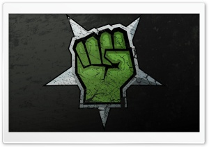 Green Fist HD Wide Wallpaper for 4K UHD Widescreen desktop & smartphone