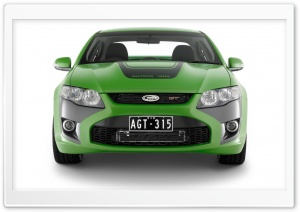 Green FPV GT Car HD Wide Wallpaper for Widescreen