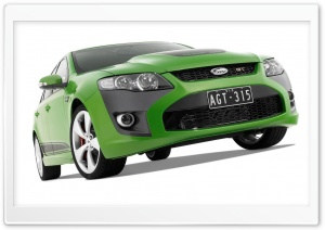 Green FPV GT Car 1 HD Wide Wallpaper for Widescreen