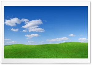 Green Hills Scenery HD Wide Wallpaper for Widescreen