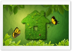 Green House HD Wide Wallpaper for Widescreen