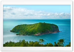 Green Island HD Wide Wallpaper for Widescreen