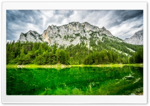 Green Lake HD Wide Wallpaper for Widescreen