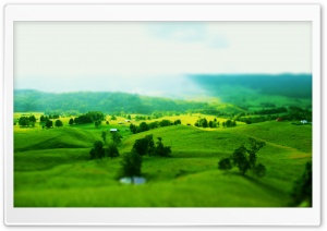Green Landscape HD Wide Wallpaper for Widescreen