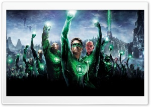 Green Lantern Movie 2011 HD Wide Wallpaper for Widescreen