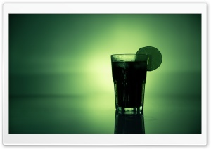 Green Lemon Juice HD Wide Wallpaper for Widescreen