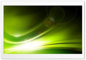 Green Light HD Wide Wallpaper for Widescreen