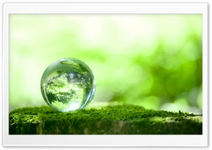 Green Planet HD Wide Wallpaper for Widescreen