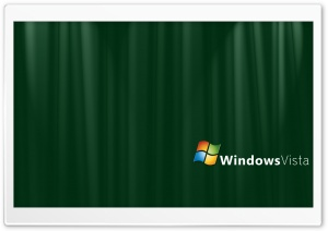 Green Silk Windows Vista Ultra HD Wallpaper for 4K UHD Widescreen desktop, tablet & smartphone