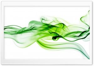 Green Smoke HD Wide Wallpaper for Widescreen