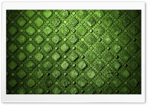 Green Squares Pattern HD Wide Wallpaper for Widescreen