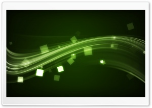 Green Wave HD Wide Wallpaper for Widescreen