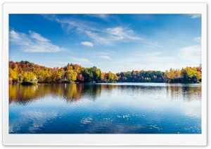 Greenwood Lake, Foliage, Autumn, Fall Ultra HD Wallpaper for 4K UHD Widescreen desktop, tablet & smartphone