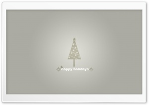 Grey Christmas HD Wide Wallpaper for 4K UHD Widescreen desktop & smartphone