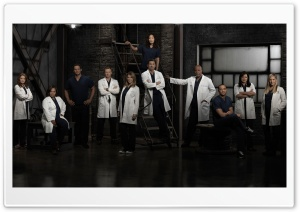 Greys Anatomy TV Show Cast HD Wide Wallpaper for Widescreen