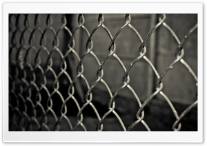 Grid Fence HD Wide Wallpaper for Widescreen