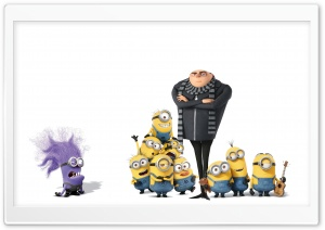 Gru and Minions HD Wide Wallpaper for 4K UHD Widescreen desktop & smartphone