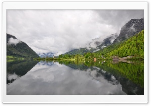 Grundlsee Lake, Austria HD Wide Wallpaper for Widescreen