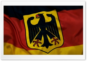 Grunge Coat Of Arms Of Germany HD Wide Wallpaper for Widescreen