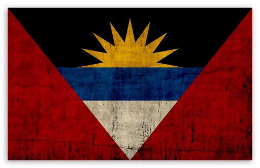Grunge Flag Of Antigua And Barbuda HD desktop wallpaper