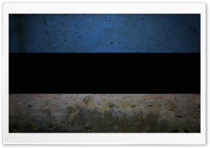 Grunge Flag Of Estonia HD Wide Wallpaper for Widescreen