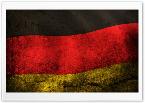 Grunge Flag Of Germany HD Wide Wallpaper for 4K UHD Widescreen desktop & smartphone