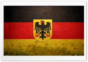 Grunge Flag Of Germany (State) HD Wide Wallpaper for Widescreen