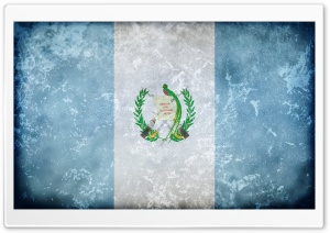 Grunge Flag Of Guatemala HD Wide Wallpaper for Widescreen