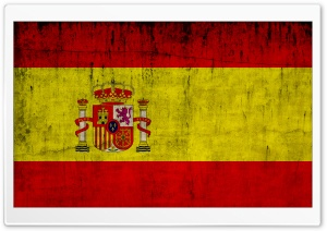 Grunge Flag Of Spain HD Wide Wallpaper for Widescreen
