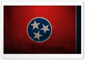 Grunge Flag Of Tennessee HD Wide Wallpaper for 4K UHD Widescreen desktop & smartphone