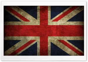 Grunge Flag Of The United Kingdom   Union Jack HD Wide Wallpaper for Widescreen