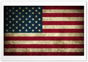 Grunge Flag Of Usa HD Wide Wallpaper for Widescreen