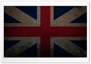 Grunge Union Flag (Naval Jack) HD Wide Wallpaper for Widescreen