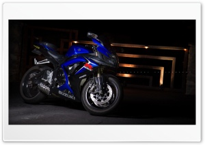 GSX-R750 HD Wide Wallpaper for Widescreen