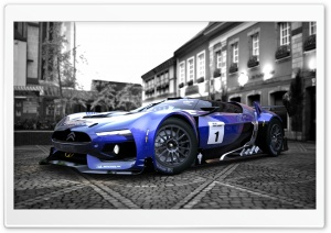 GT by Citroën Race Car HD Wide Wallpaper for Widescreen