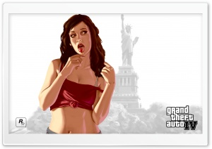 Gta Four Girl HD Wide Wallpaper for Widescreen