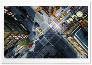 GTA IV CITY HD Wide Wallpaper for Widescreen