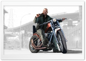 GTA Motorcycle HD Wide Wallpaper for Widescreen