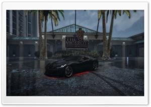 GTA V black car Ultra HD Wallpaper for 4K UHD Widescreen desktop, tablet & smartphone