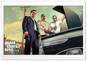 GTA V Car Trunk HD Wide Wallpaper for Widescreen