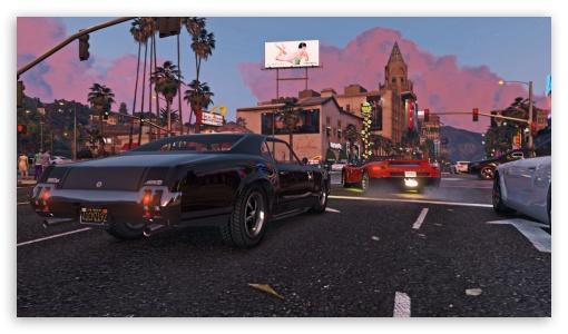 Gta V Cars Ultra Hd Desktop Background Wallpaper For 4k Uhd Tv