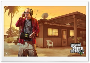 GTA V Nervous Ron Ultra HD Wallpaper for 4K UHD Widescreen desktop, tablet & smartphone