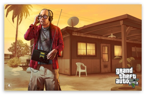GTA V Nervous Ron HD wallpaper for Wide 16:10 5:3 Widescreen WHXGA WQXGA WUXGA WXGA WGA ; Tablet 1:1 ; Mobile 5:3 - WGA ;