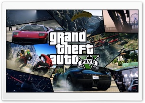 GTA V Tiles HD Wide Wallpaper for Widescreen