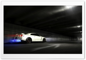 GTR in Motion HD Wide Wallpaper for Widescreen
