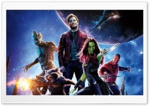 Guardians Of The Galaxy 2014 Movie HD Wide Wallpaper for Widescreen