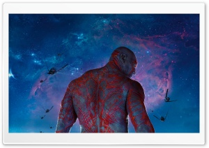 Guardians Of The Galaxy Drax The Destroyer HD Wide Wallpaper for Widescreen